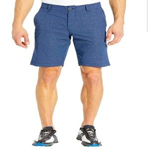 Under armor heat gear showdown Wente golf shorts